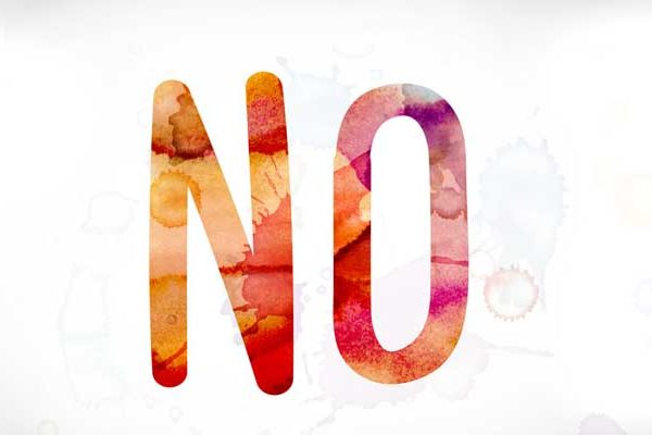 "What ""No"" Doesn't Mean"